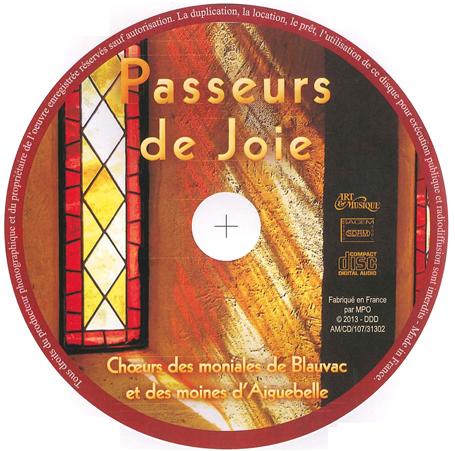 """CD """"Passeurs de joie"""""""