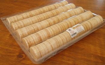 500 hosties dorées pour fidèles, conditionnées dans une boîte à cinq colonnes pour une conservation optimale