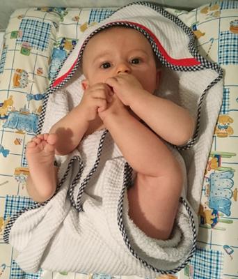 Sorties de bain pour bébé